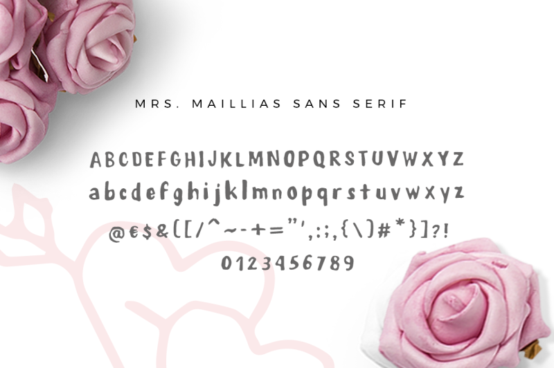 mrs-maillias-duo-font-and-doodles