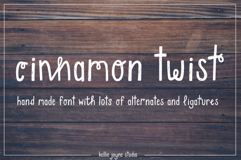 cinnamon-twist-handdrawn-font
