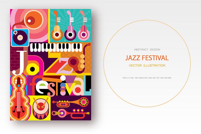 jazz-festival-vector-poster-design