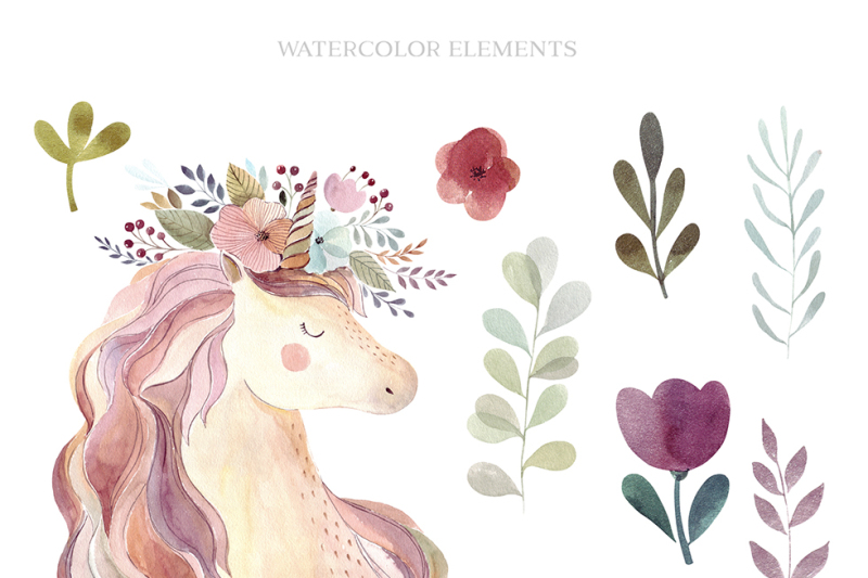 unicorns-and-flowers