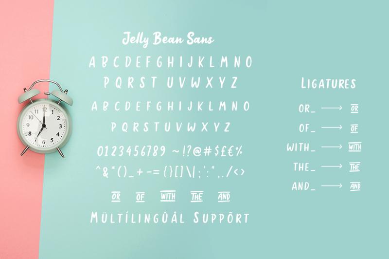 jellly-bean-script-amp-sans-fun-font