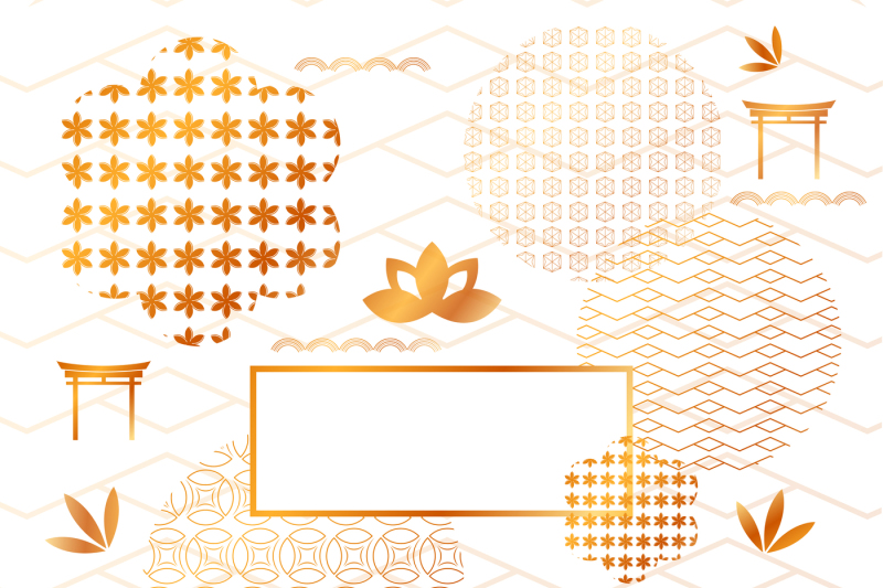 abstract-japanese-golden-elements-and-backgrounds