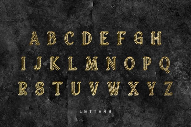 broker-vintage-display-font