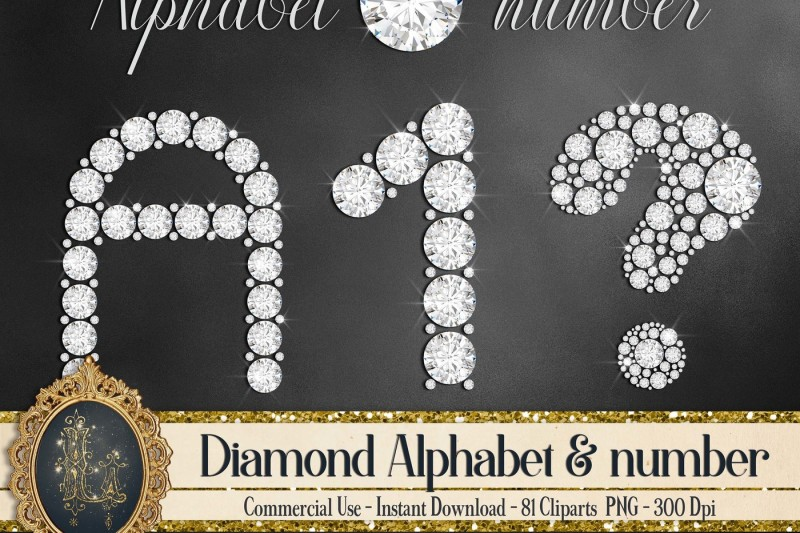 81-diamond-alphabet-number-symbol-clip-arts-not-a-font