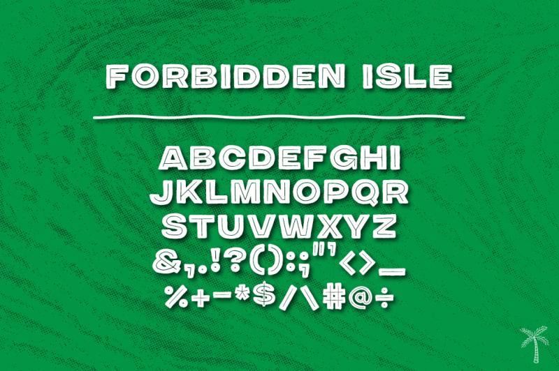 forbidden-isle-modern-tiki-font