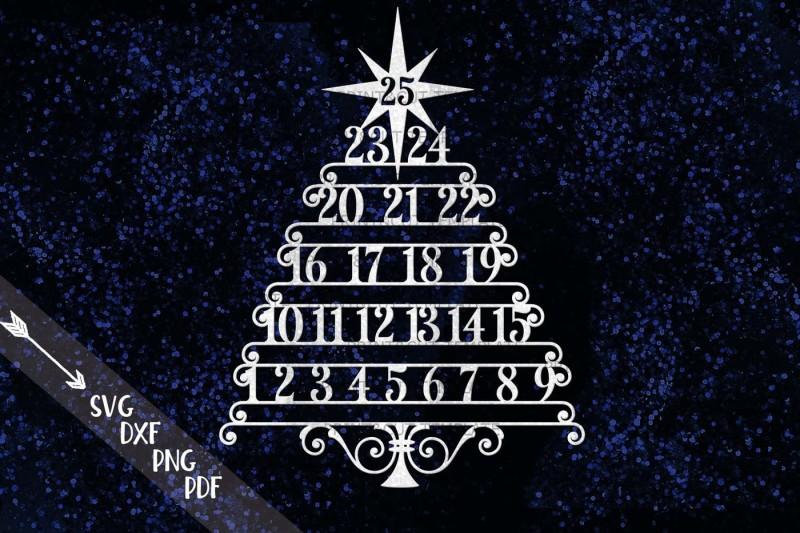 christmas-tree-advent-countdown-calendar-hanging-ornament-svg-dxf-cut