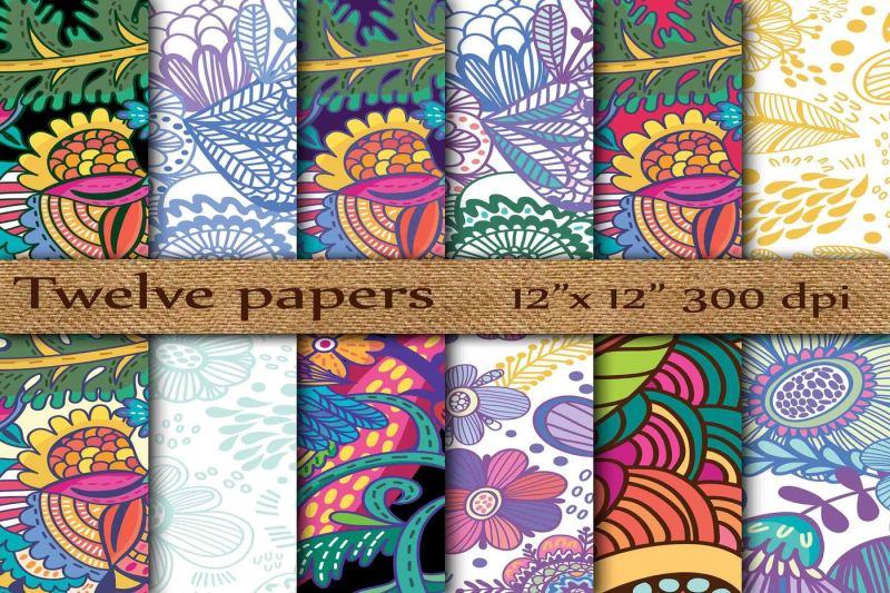 floral-digital-paper