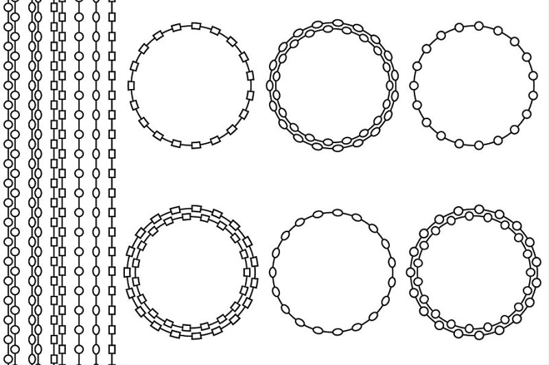 chain-frames-and-borders