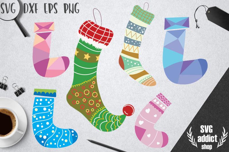 christmas-stockings-svg-pack