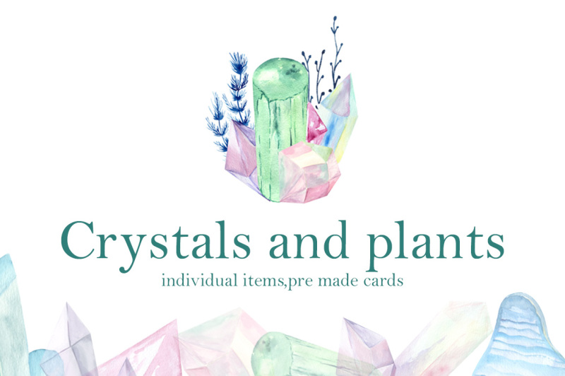 crystals-and-plants