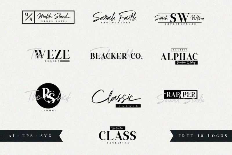 ripon-font-duo-free-10-logos