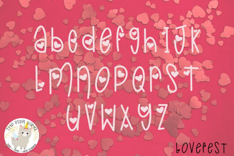 lovefest-a-cute-heart-font