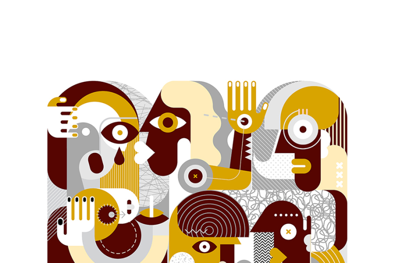 group-of-people-vector-illustrations