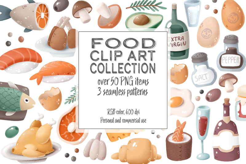 food-clip-art-collection