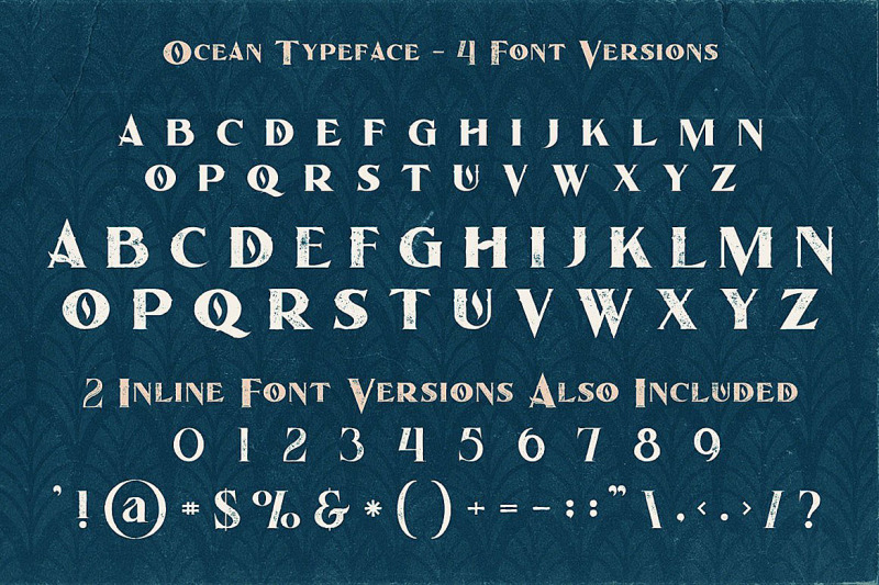 ocean-display-font