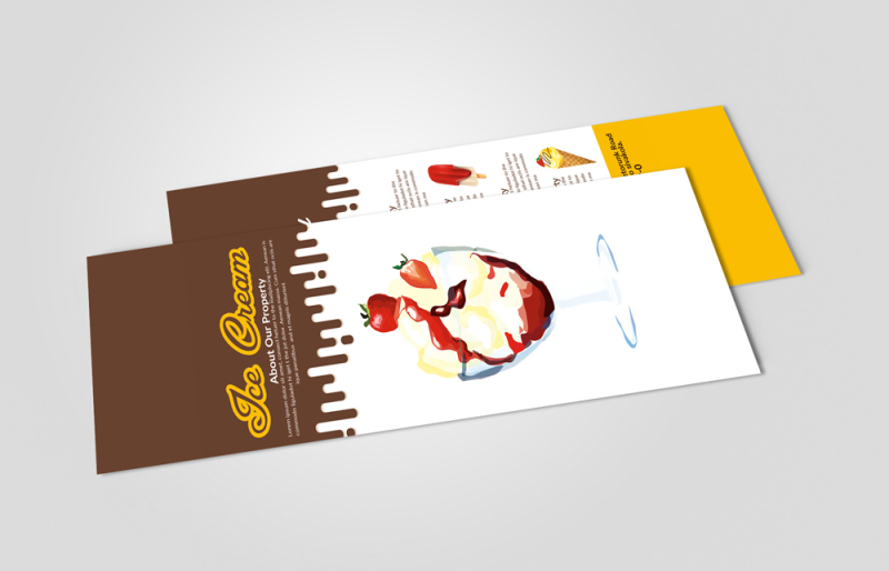 ice-cream-shop-rack-card-template