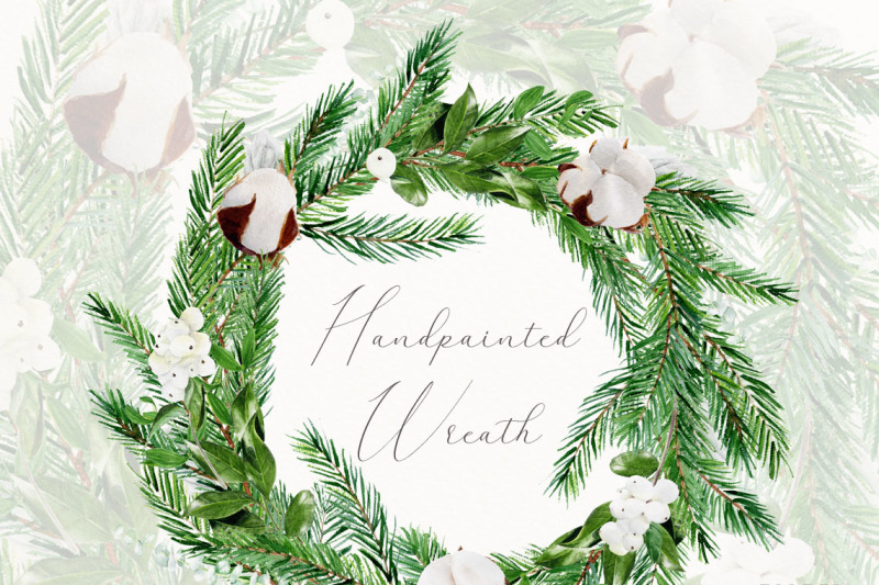 watercolor-christmas-wreath