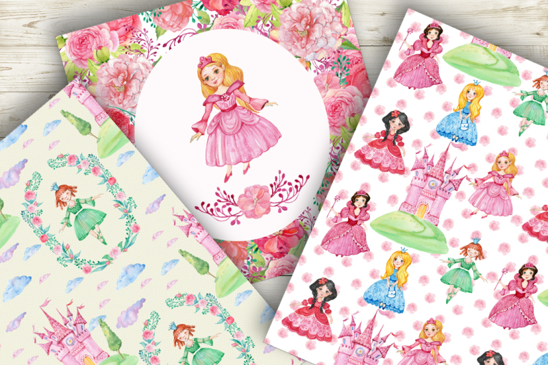 princess-digital-patterns