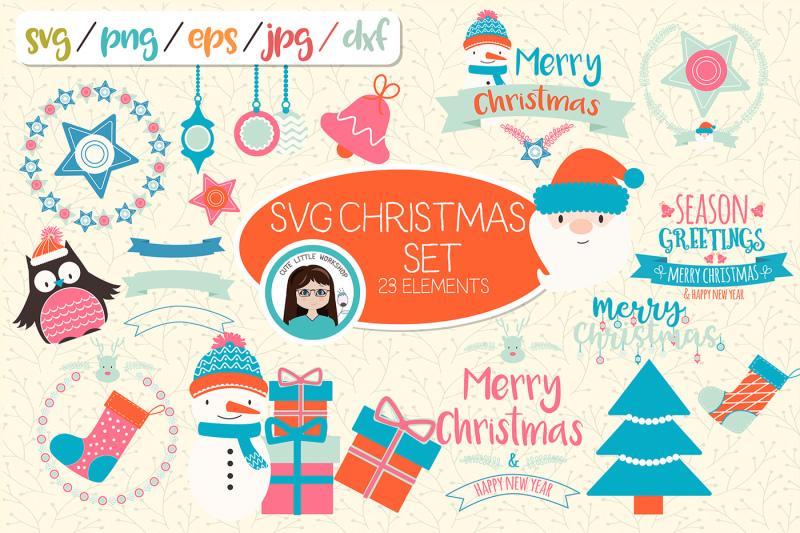svg-christmas-set