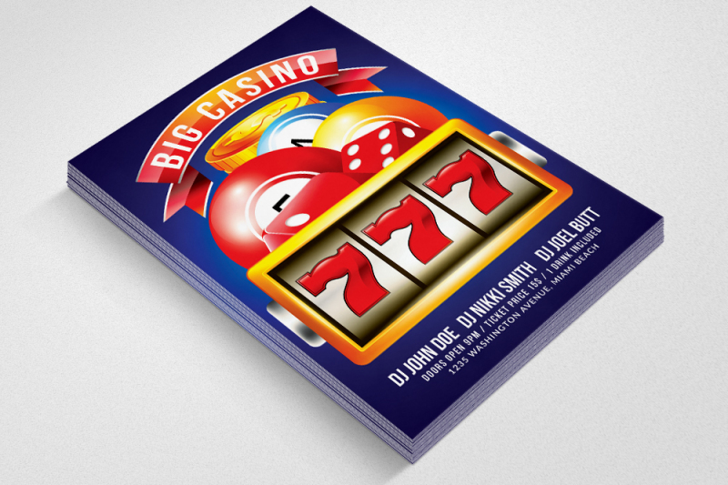 casino-flyer-template