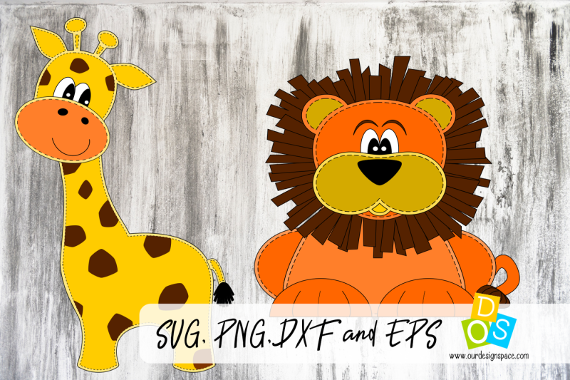 lion-and-giraff-svg-png-dxf-and-eps-file