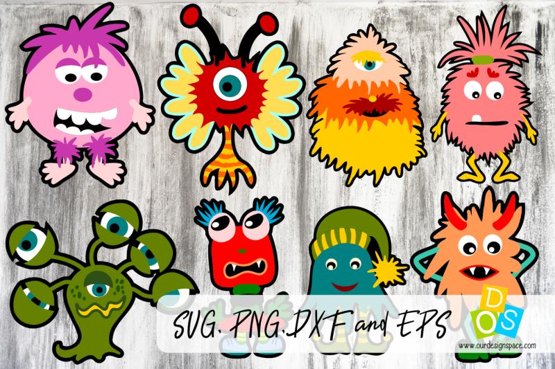 monster-bundle-svg-png-dxf-and-eps-file