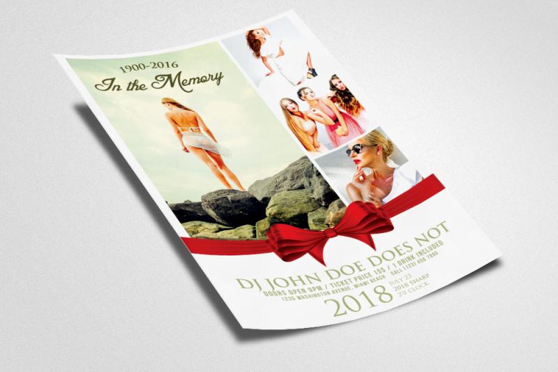 memorial-flyer-template