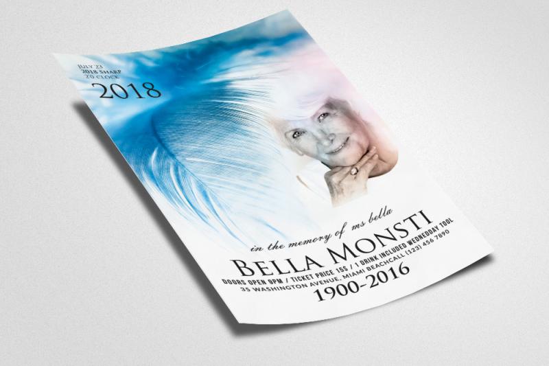 memorial-and-funeral-program-flyer