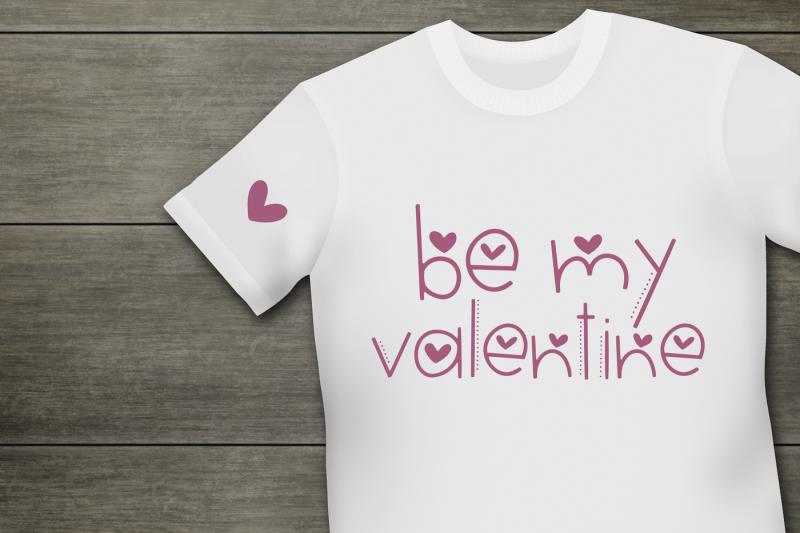 hi-valentine-valentine-s-day-font