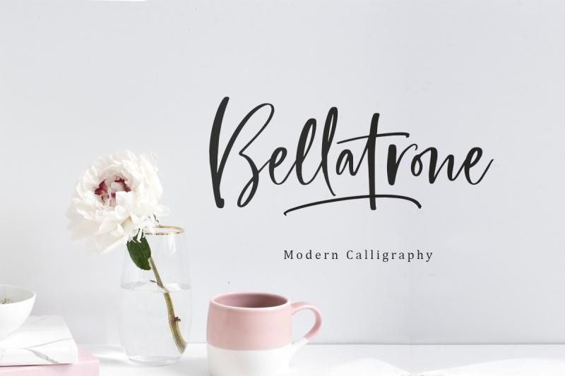 bellatrone-modern-script