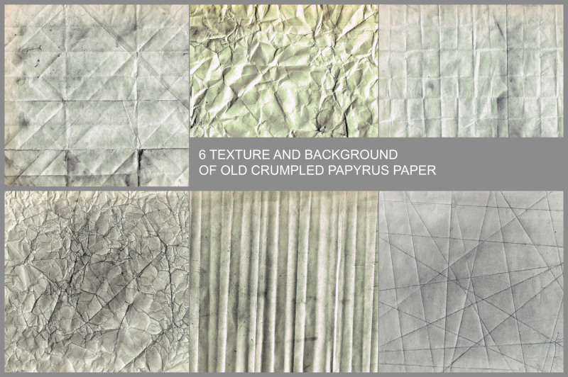 6-texture-and-background-of-old-crumpled-papyrus-paper