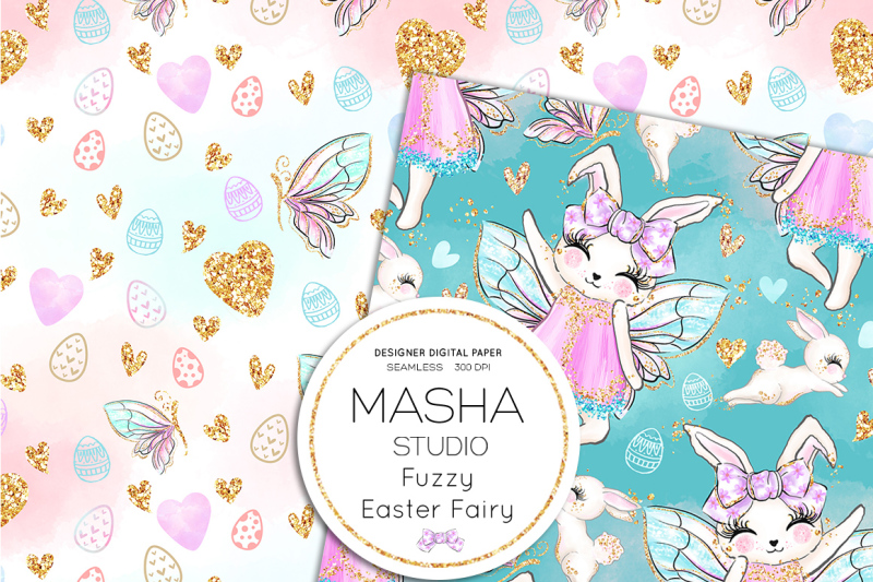 fuzzy-easter-fairy-digital-papers