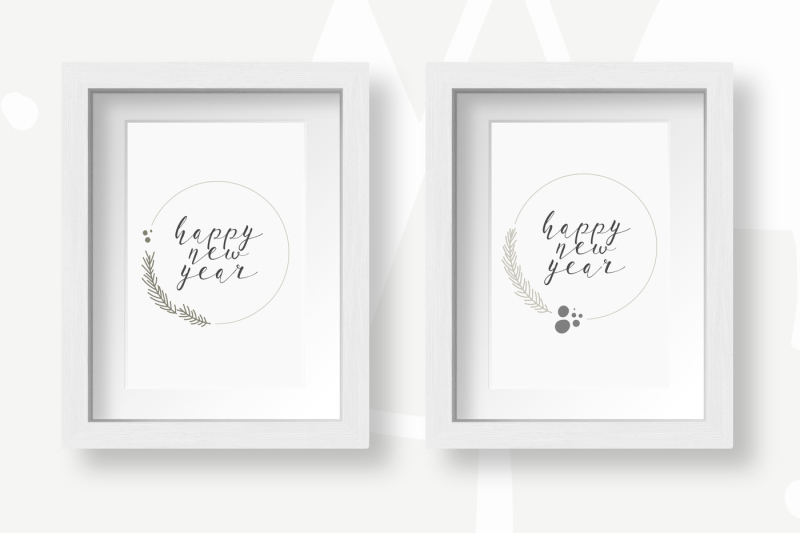 sweet-christmas-vector-wreaths