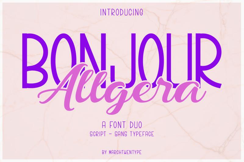 bonjour-allgera-font-duo