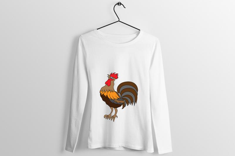 rooster-t-shirt-design