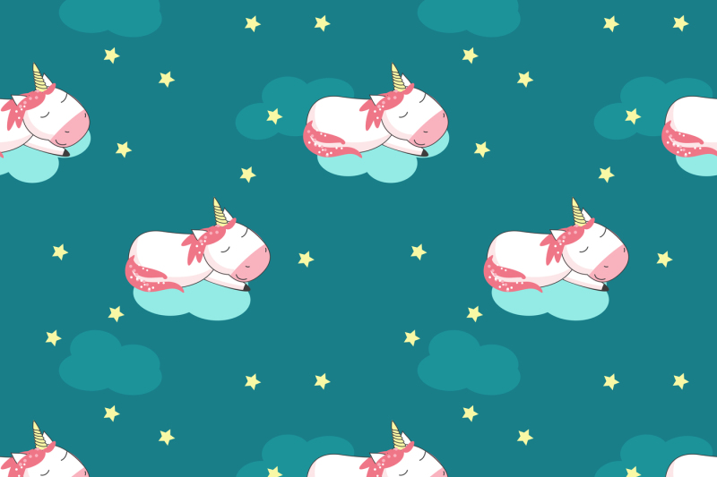 unicorn-cartoon-set-and-patterns