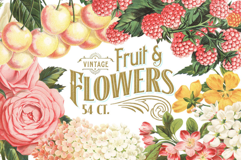 massive-vintage-fruit-and-flowers