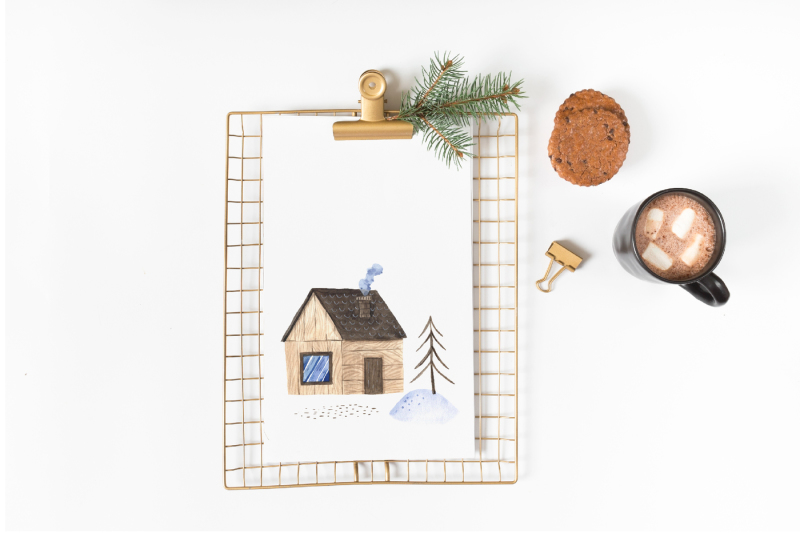 watercolor-cute-winter-animals-set