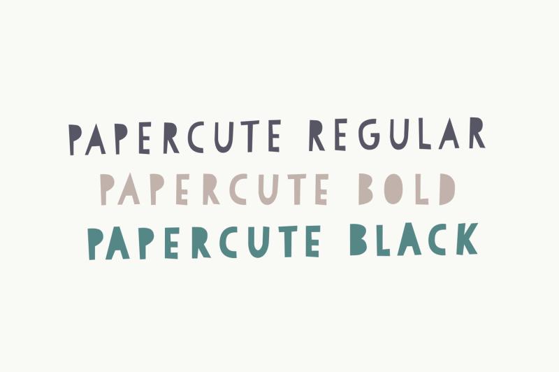 papercute-font-pack