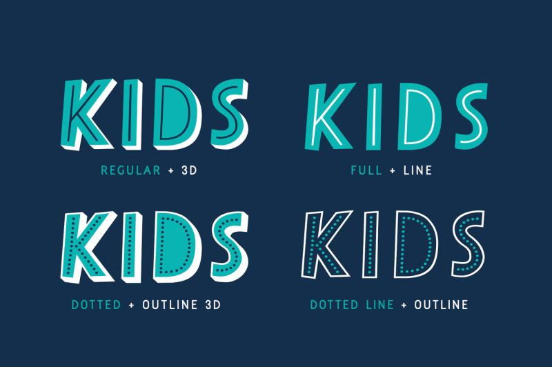 papercute-inline-font-pack