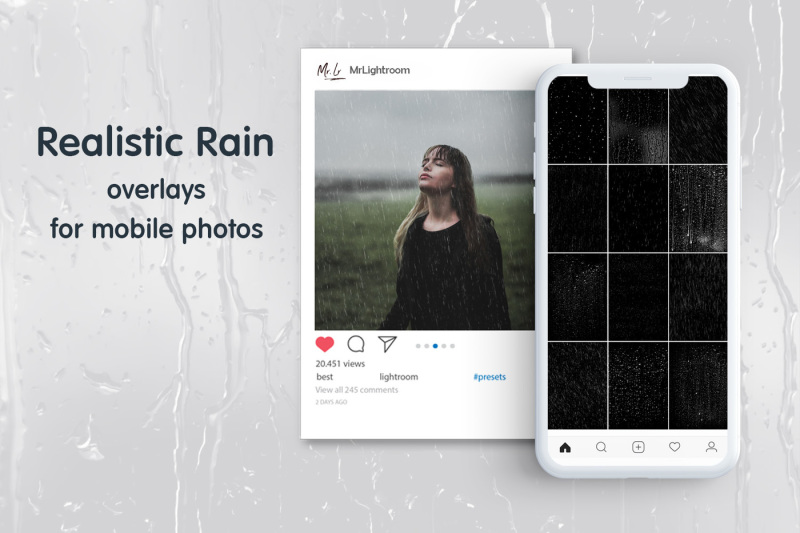 rain-mobile-overlays