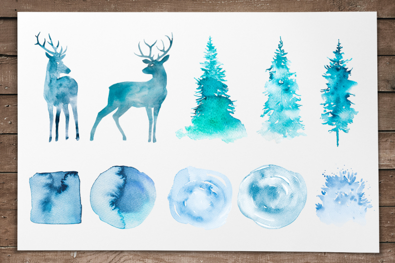 winter-watercolor-collection