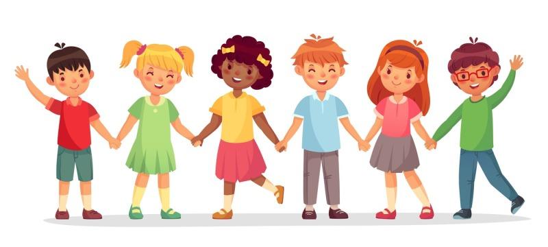 happy-kids-team-multinational-childrens-school-girls-and-boys-stand