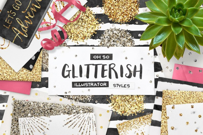 100-glitter-illustrator-swatches-bonus-vecor-patterns