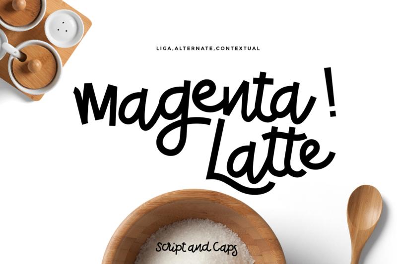 magenta-latte