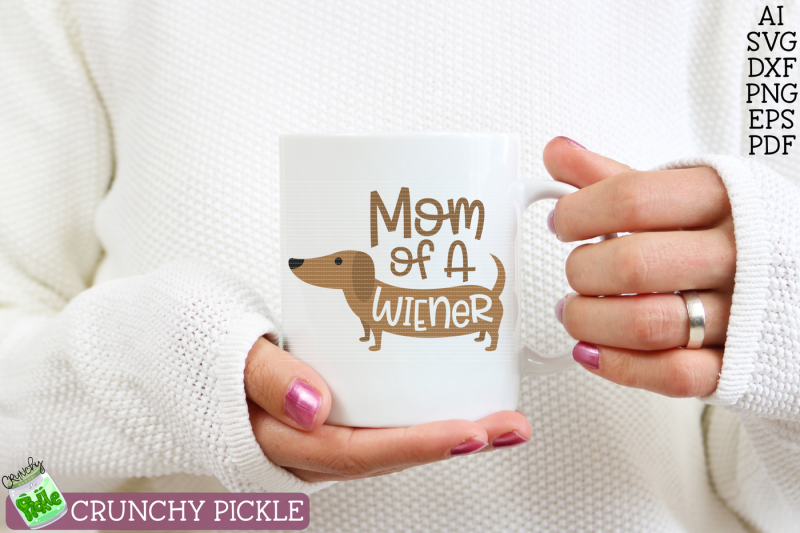 mom-of-wiener-dog-dachshund-svg