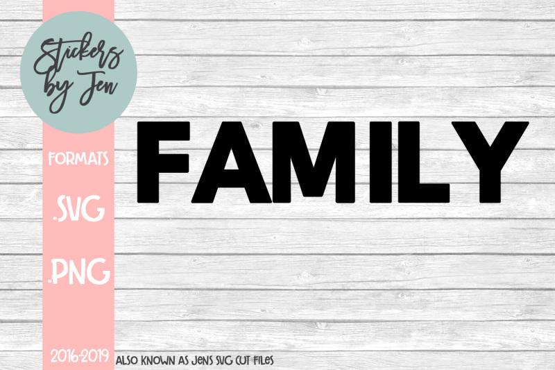 family-svg-cut-file