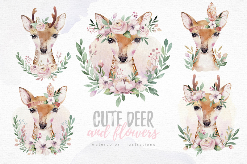 cute-forest-friends-collection