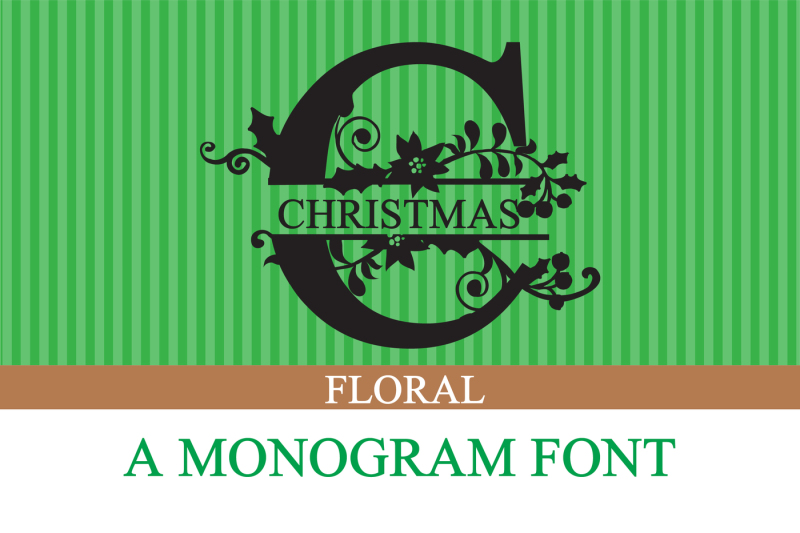 pn-christmas-floral-monogram-banner