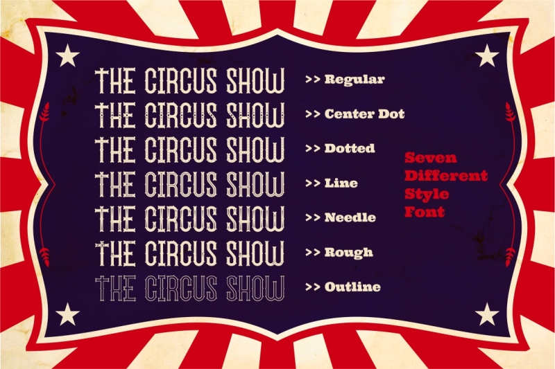 the-circus-show-display-typeface
